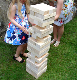 Giant Tumble Tower (Jenga)